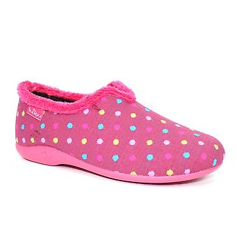 Maan lava polka dot slipper