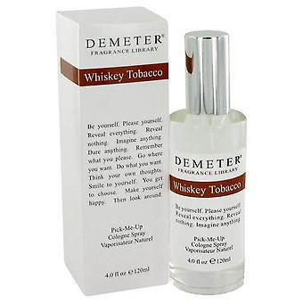 Demeter af Demeter whisky tobak Cologne Spray 4 oz/120 ml (kvinder)
