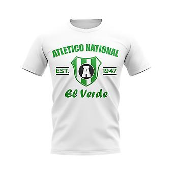 Atletico National Established Football T-Shirt (Bianco)