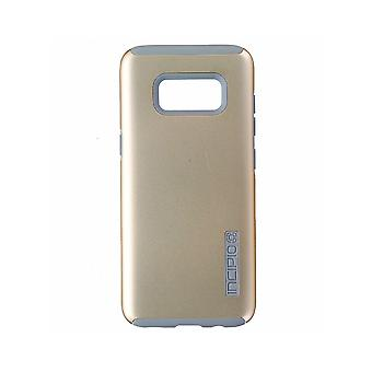 Incipio DualPro Case for Samsung Galaxy S8 - Champagne Gold/Gray