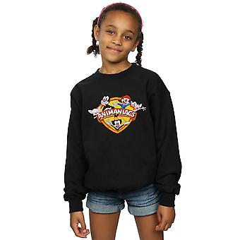 Animaniacs Girls Group Shield Sweatshirt