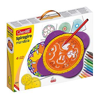 Quercetti Spirogiro Mandala Drawing Set STEAM Toy Ages 4-12 Years
