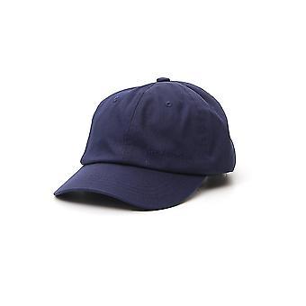 Acne Studios C40077navyblue Män & Apos; s Blue Fabric Hat