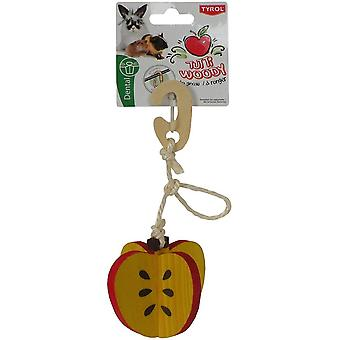 Tyrol Hanging Apple Tutti Woody (Small pets , Toys)