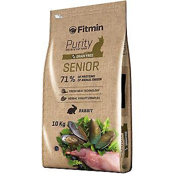 Fitmin Cat pureté Senior (chats, nourriture pour chats, croquettes)