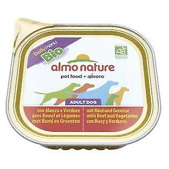 Almo nature Daily Menu Bio Beef & Vegetable (Psy , Karma dla psów , Mokra karma)