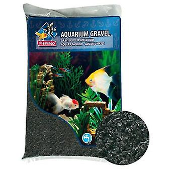 Flamingo Black Gravel for Aquariums (Fish , Decoration , Gravel & sand)