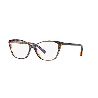 Alain Mikli A03082 001 Top Black Multicolor Glasses