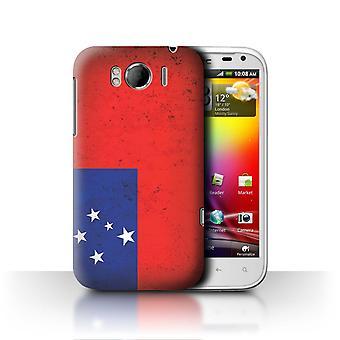 STUFF4 Case/Cover for HTC Sensation XL/G21/Samoa/Samoan/Oceania Flag