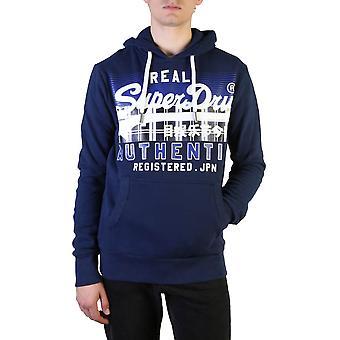 Superdry Original Herren Herbst/Winter Sweatshirt - blaue Farbe 37798