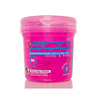 Eco Styler Professional Styling Gel for Curls & Waves, Pink, 16oz
