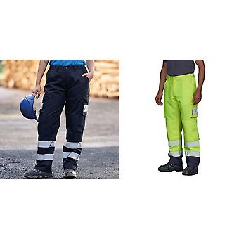 PRO RTX High Visibility Mens Cargo Trousers