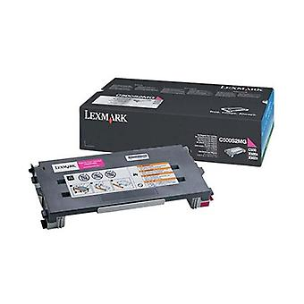 Lexmark C500S2Mg Magenta Toner Yield 1500 Pages