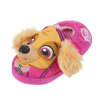 Paw Patrol Skye 3D Fluffy Pink Girl-apos;s 3D Slippers