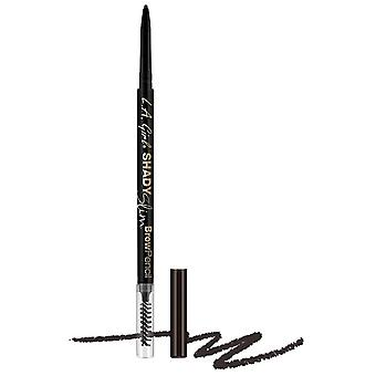 L.A. Girl Slim Shady Eyebrow Pencil Blackest Brown