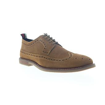 Ben Sherman Birk Long Wing  Mens Brown Casual Lace Up Oxfords Shoes
