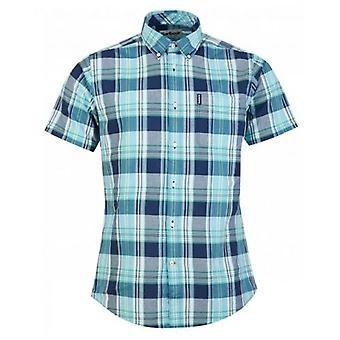 Barbour Madras 5 Short Sleeved Check Shirt