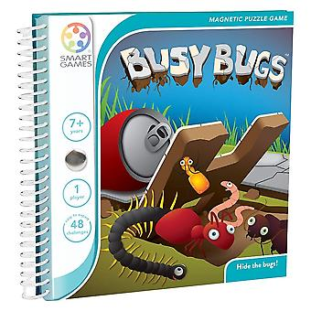 SmartGames Busy Bugs Magnetic Puzzle Travel Game One Player Ages 7 Years