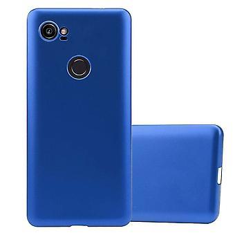 Cadorabo Sag til Google Pixel 2 XL sag dækning - Mobile TPU Silikone Telefon Sag - Silikone sag Beskyttende sag Ultra Slim Soft Back Cover Sag Kofanger