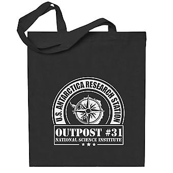 The Thing Outpost 31 Antarctica Totebag