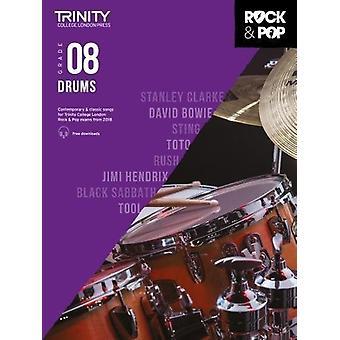 Trinity College London Rock & Pop 2018 Drums Grade 8 - 9780857366