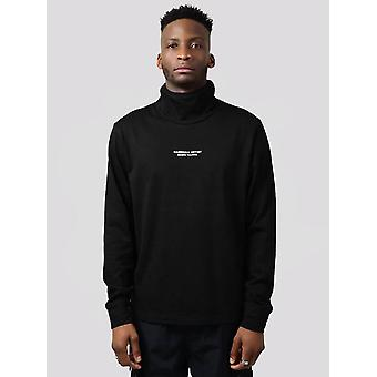 Marshall Artist Hybrid Tech Roll Neck Top - Black