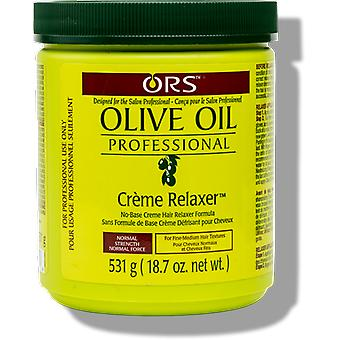 ORS Olive Oil Professional Creme Relaxer Jar Normal Strength 531g