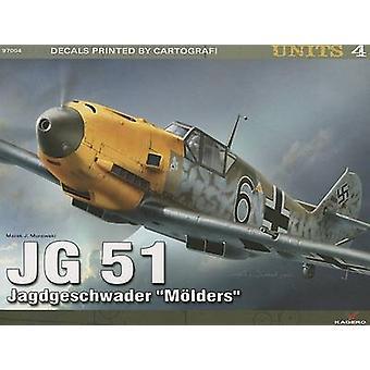JG 51 Jagdgeschwader  -Molders - by Marek J. Murawski - 9788362878550 B