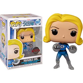 Fantastic Four Invisible Girl Translucent US Excl Pop! Vinyl