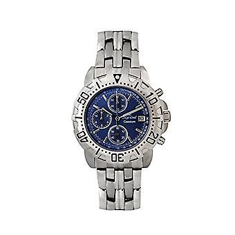 Oskar Emil Clock Man ref. Caesium 1119G Blue dial