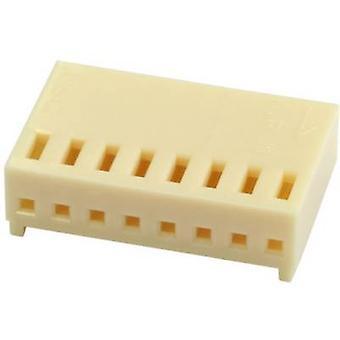 econ ربط حاوية المقبس - PCB العدد الإجمالي للدبابيس 4 تباعد الاتصال: 2.54 ملم CV4 1 pc (ق) الجزء الأكبر