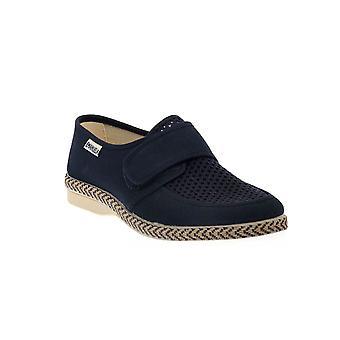 Emanuela blue slipper shoes