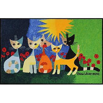 Salon lion kynnysmatto una bella compagnia pestävä kerroksen mat 50 x 75 cm Rosina Wachtmeister