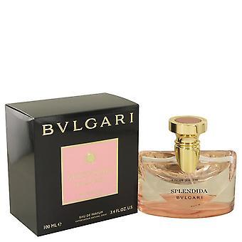 Bvlgari Splendida Rose Eau De Parfum Spray por Bvlgari 3,4 oz Eau De Parfum Spray