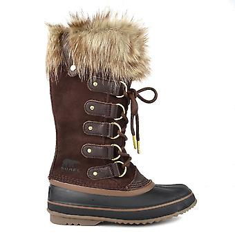 Sorel Joan Of Arctic Cattail Suede And Leather Boot