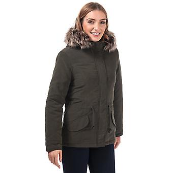 Women's Only Lucca Parka Jacket in Green