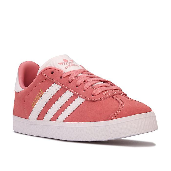 Jente&s Adidas Originals Barn Gaselle Trenere I Rosa