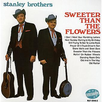 Stanley Brothers - Sweeter Than the Flowers [CD] USA import