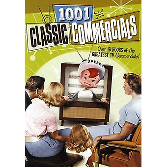1001 Classic Commercials [DVD] USA import