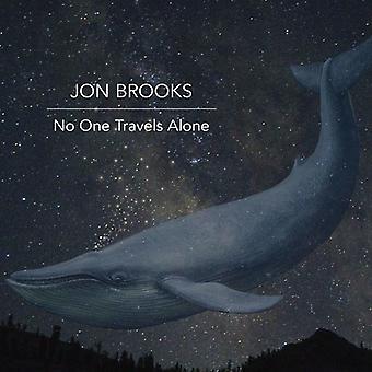 Jon Brooks - No One Travels Alone [CD] USA import