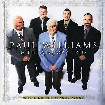 Paul Williams & the Victory Trio - Where No One Stands Alone [CD] USA import