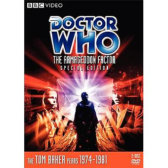 Doctor Who - Doctor Who: Armageddon Factor [DVD] USA import