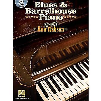Blues & Barrelhouse Piano (W/bok) [DVD] USA importere