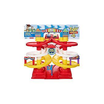 Fischer price toy story carnival spiral speedway
