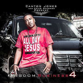 Canton Jones - Kingdom Business 4 [CD] USA import