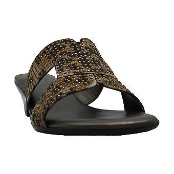 Karen Scott Womens Esmayy Fabric Open Toe Casual Platform Sandals