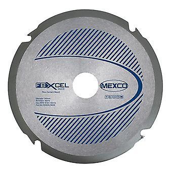 Mexco 185mm X 2,2 x X 4T Fibre Cement Board PCD Diamond Blade
