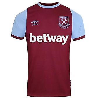 Camisa do Umbro West Ham United Home | Claret | 2020/21 | Adulto
