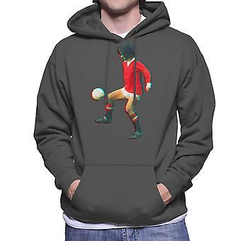 TV ganger George Best spille med Manchester United Hettegenser