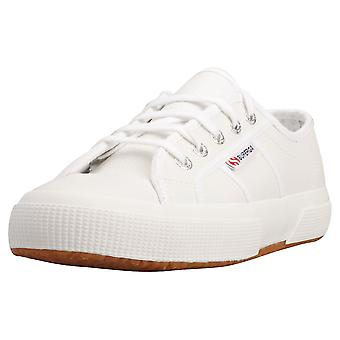 Superga 2750 Efglu Mens Fashion Trainers in White Gum